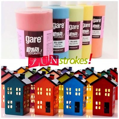 Gare Fun Strokes Underglazes for Bisque