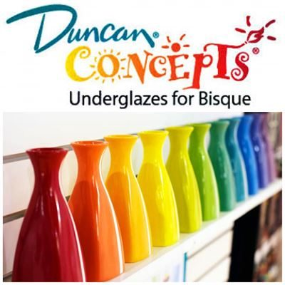 Duncan Concepts Underglazes for Bisque