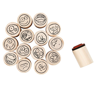 Deco Art Stamps Smiley 20mm CH28581