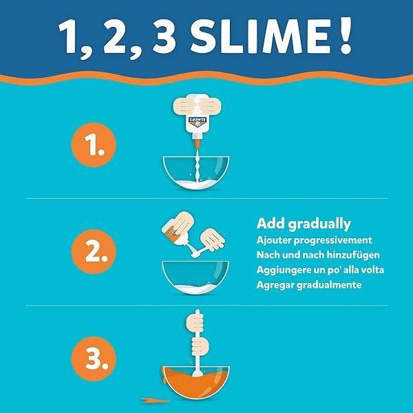 Elmers Magical Liquid Slime Activator instructions