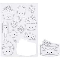CH51237 Ice Cream Magnets- Magnetic Sheet