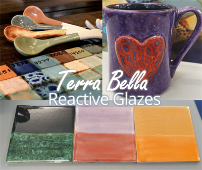 Terra Bella Glazes from Cromartie