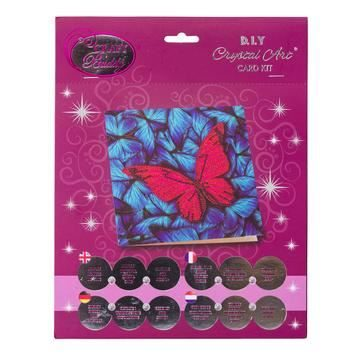 Butterfly Crystal Art Card Kit card contents
