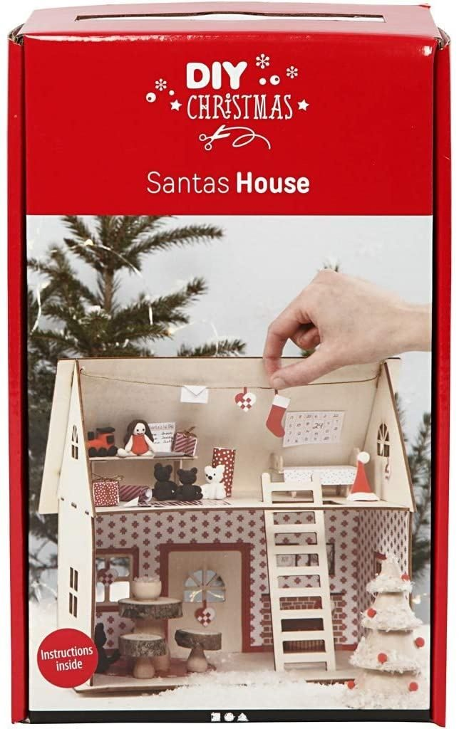 DIY Kit Christmas Santa House