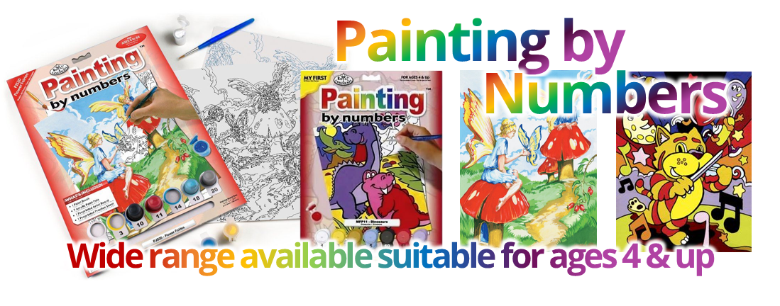 Painting by Numbers Kits