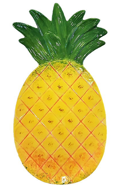 1072 Pineapple Plate (finished)