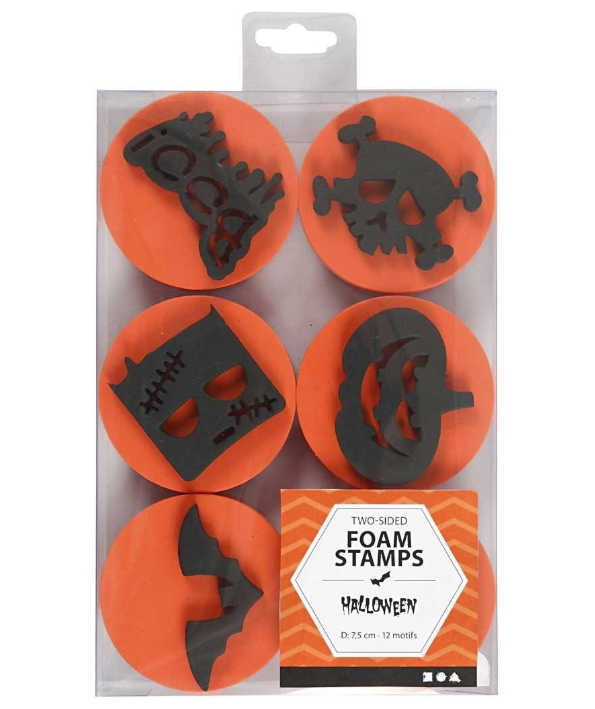 CH28553 Foam Stamps Halloween- in pack