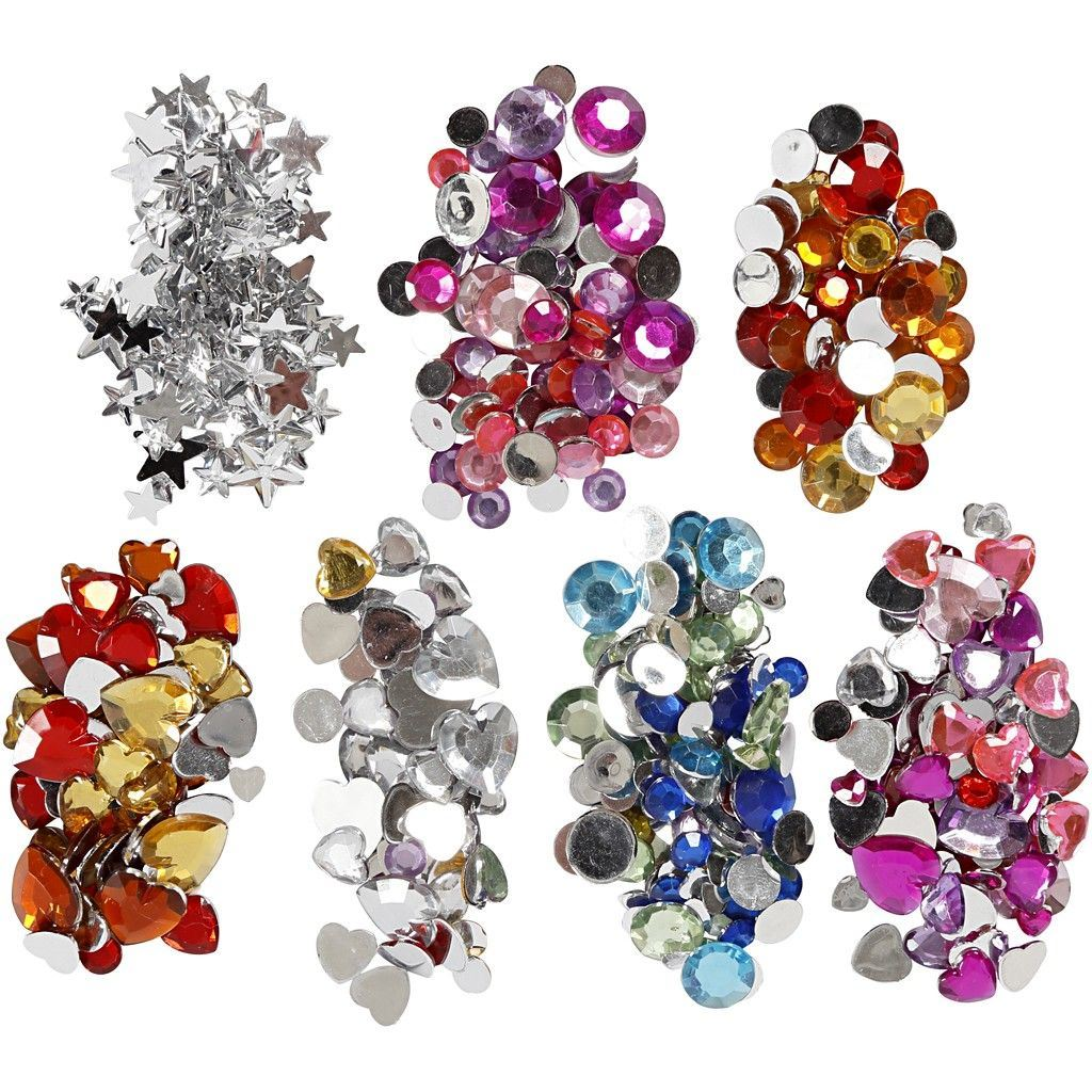 Mixed Rhinestones for Crafts Crafting Embellishment